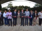 Inauguran primera etapa de la techumbre del Plantel Tingambato del Cobaem