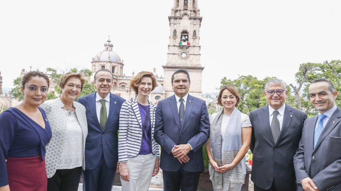 Fortalece Gobernador lazos de cooperación con España