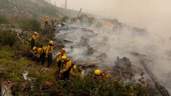 Concluye apoyo a Canadá en incendios forestales