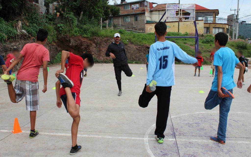 Impulsa SSP el deporte en menores y adolescentes