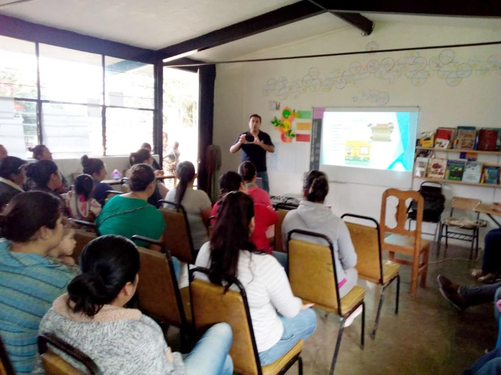 Promueve SSP los valores en municipio de Hidalgo