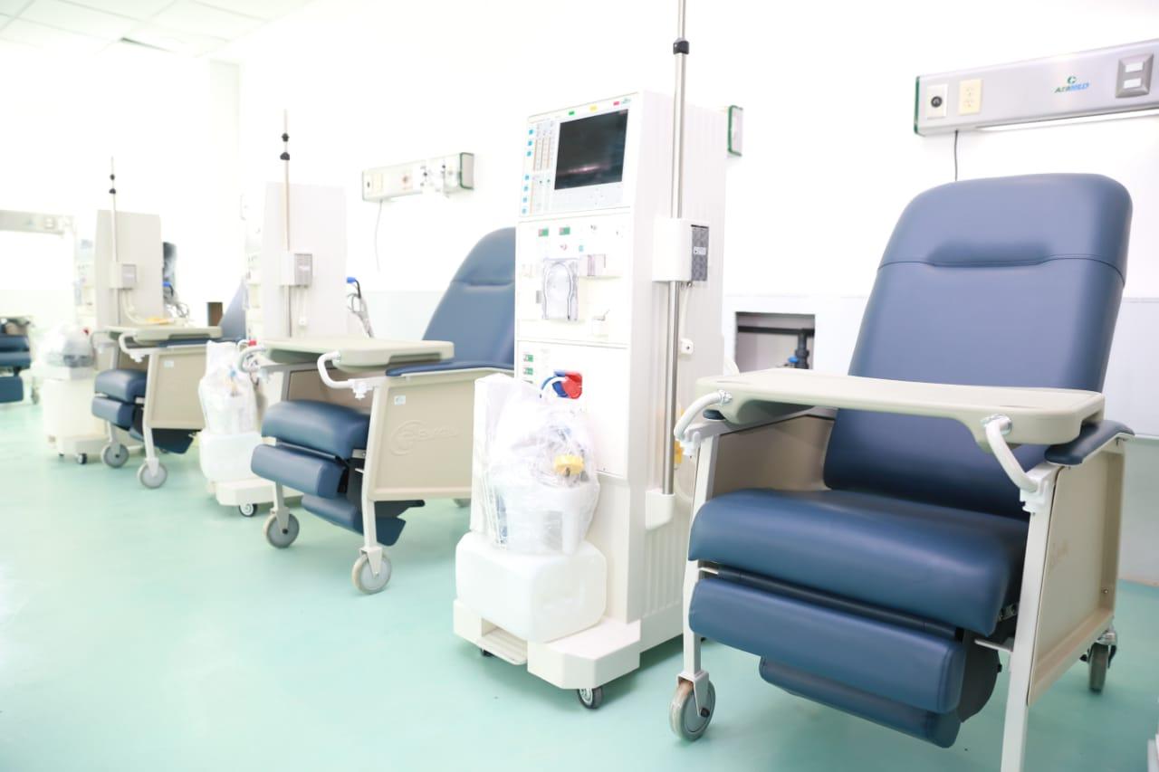 Próxima semana, reinicia operaciones Unidad de Hemodiálisis de Ciudad Hidalgo