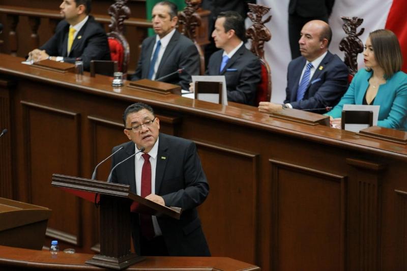 En el fortalecimiento de la Auditoría Superior de Michoacán, la llave para abatir corrupción: Fermín Bernabé